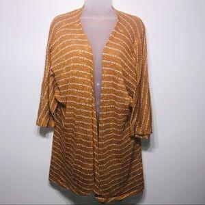 LuLaRoe Lindsay Sweater Cardigan, Size Medium